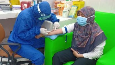Rapid Test di Tangerang, Petugas Medis Langsung Datangi Rumah ODP