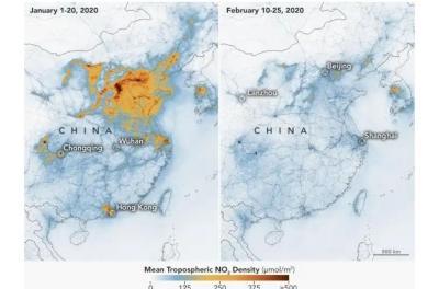 Polusi Udara Turun di Tengah Pandemi COVID-19