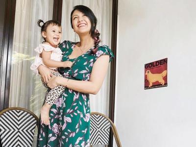Sharena Delon Berbagi Tips Jaga Keluarga di Tengah Pandemi COVID-19