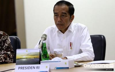 Presiden Jokowi Pertanyakan Perlaksanaan PSBB ke Gugus Tugas Covid-19