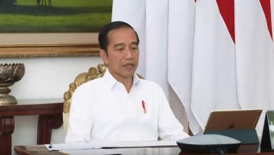 Jokowi: Jangan Terlambat Realokasi Anggaran Penanganan Covid-19