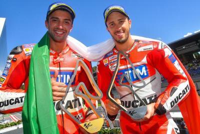 Ducati Lebih Memilih Andrea Iannone ketimbang Dovizioso