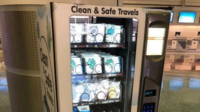 Antisipasi Corona, Bandara Ini Sediakan Vending Machine Masker untuk Pelancong