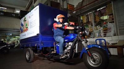 BRI Dukung Pengelola Pasar Ubah Pasar Dinoyo Menjadi Pasar Online