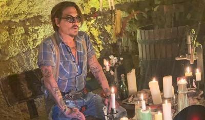 Desain Johnny Depp Jika Jadi Joker versi The Batman