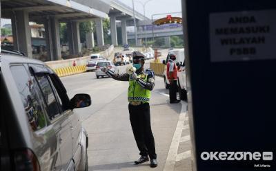 Tidak Memiliki SIKM, 2.898 Kendaraan Diputar Balik di 20 Pos Penyekatan