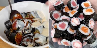 Eksperimen Terbaru, Sensasi Unik Sushi Sereal Lengkap dengan 'Susu'