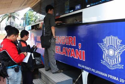 Jelang New Normal, Polri Kembali Buka Layanan SIM dan STNK untuk Warga