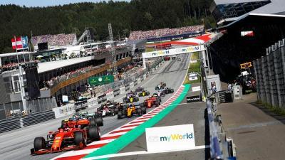 F1 Resmi Umumkan 8 Seri Awal untuk Kalender Baru 2020, Dimulai 5 Juli