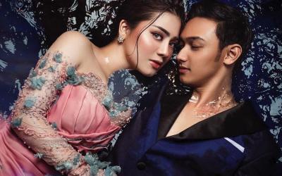 Photoshoot Prewedding, Intip 3 Pose Keren Felicya Angelista dan Caesar Hito Basah-Basahan di Air