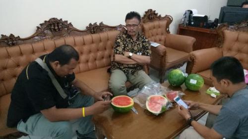 Buah Semangka Diduga Mengandung Formalin Ditemukan di Bogor