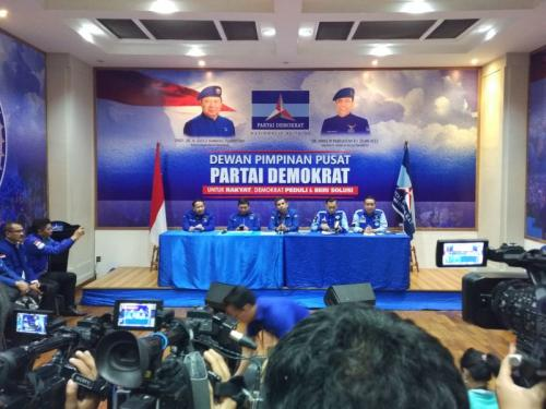 Demokrat: Soal Kabinet Otoritas Jokowi, Tugas Kami dan SBY Turunkan Tensi Pasca-Pemilu