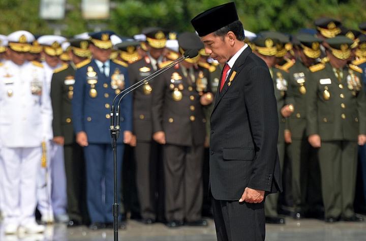 HARI MERDEKA: Jokowi Bersumpah Meneruskan Perjuangan Pahlawan