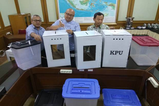 Simulasi Pemilu Serentak 2019, KPU: Pemilih Butuh 4-5 Menit Tuntaskan Proses Pemilihan di TPS