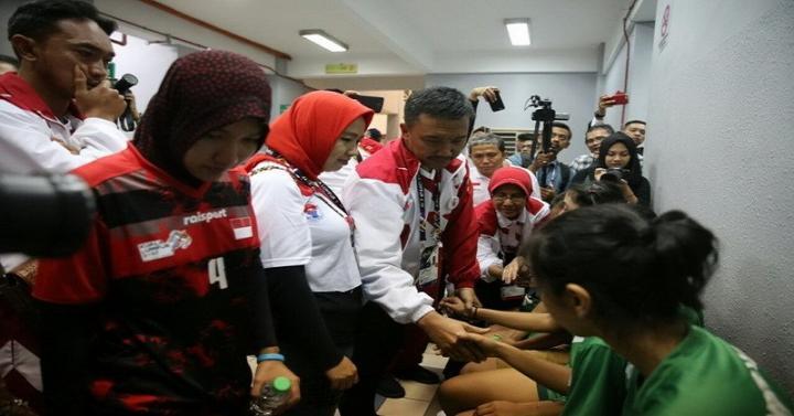 Semangat! Video Tim Sepak Takraw Indonesia Walk Out hingga Motivasi Menpora